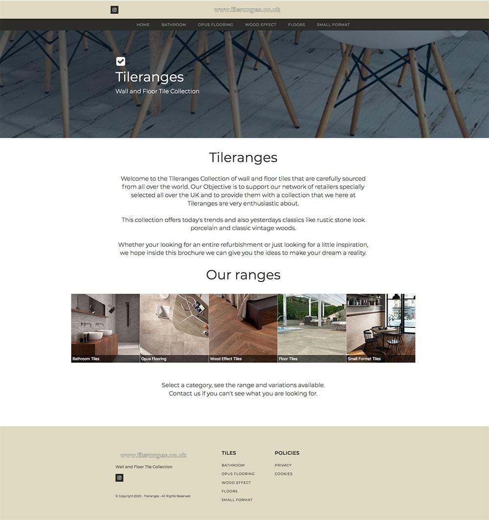 tile ranges website