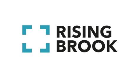 Rising Brook Logo designed by Press Creative StoryBrand Guides